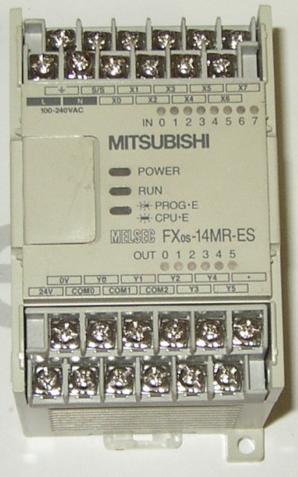 FX0S-14MR-ES/UL,mitsubishi-melsec-PLC